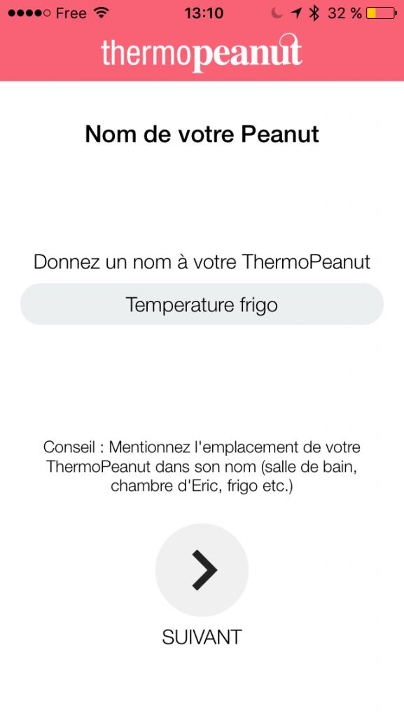 test du nouveau capteur de temp rature thermopeanut de chez so. Black Bedroom Furniture Sets. Home Design Ideas