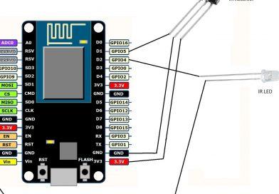 Un Contrôleur Infra-rouge wifi fait maison à partir de l'ESP8266